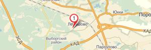 Карта Левашово