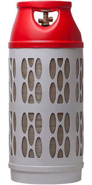 Взрывобезопасный газовый баллон Ragasco Lpg 33,5 л (Норвегия) (Красный)