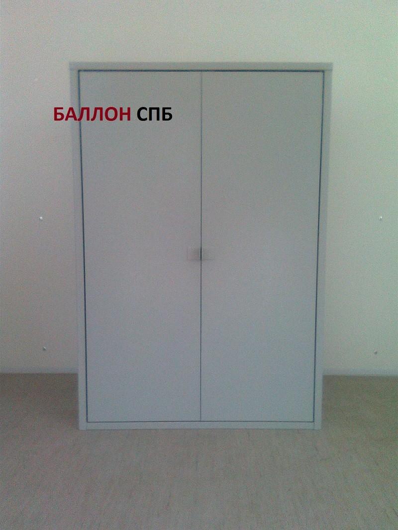 Газовый шкаф для двух пропановых баллонов (усиленный)