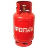 Газовый баллон 12 литров (С ПРЕДОХРОНИТЕЛЬНЫМ КЛАПАНОМ)