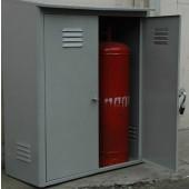 Шкаф газовый для двух баллонов