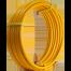 Труба для газа, гофрированная, желтая пм 20